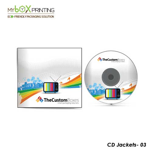 CD Jacket Packaging