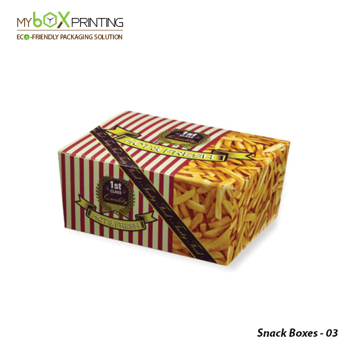 Custom Printed Snack Boxes