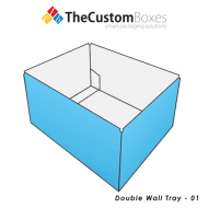 Double Wall Tray